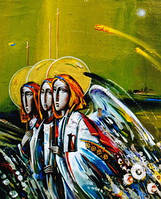 """Листівка """"Трійця"""", фото 1"""