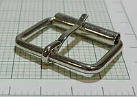 Пряжка (квадрат) металл (Италия) (отполированный, никель)