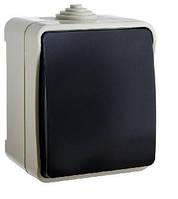 Выключатель одноклавишный АСКО IP 54 ВЗ10-1-IP54