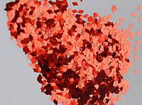 """Ромбики для эффекта """"Битое стекло"""" (цвет красный)"""