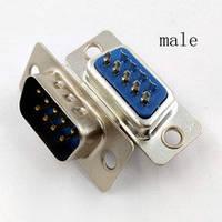 Разъем DB-9 M для монтажа на кабель male