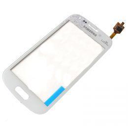 Тачскрин сенсор Samsung S7562 Galaxy S Duos, S7560 Galaxy Trend белый (HQ)