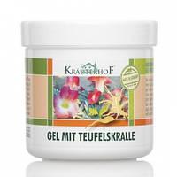 Krauterhof Гель для тела согревающий с экстрактом когтя дьявола, Объем 500 мл, Объем 250 мл