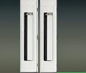 Ручки на  систему VERTU 186мм  хром