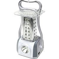 Аккумуляторный фонарь-лампа 5831, 53 LED