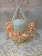 Свадебные свечи 54