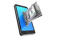 Пополнение мобильного телефона или банковской карты