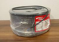 Кабель провод ШВВП (черный) 2х0.75 ГОСТ Интерэлектро