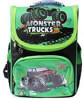 """Ранец каркасный WL-856 """"Monster trucks"""""""
