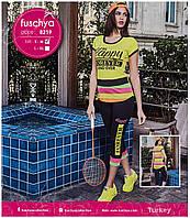 "Летний костюм футболка+бриджи ""fuschya"" Турция"