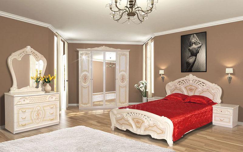 """Двоспальне ліжко """"Кармен Нова"""""""