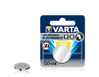 Батарейки Varta - Professional Electronics CR2430 Lithium / Li-Ion 3V 1/10/100шт