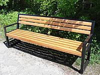 Лавочка садово-парковая, неразборная (210 см)
