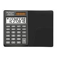 Калькулятор 8 разрядный Brilliant BS-100X