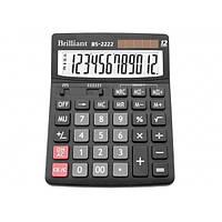 Калькулятор 12 разрядный Brilliant BS-2222