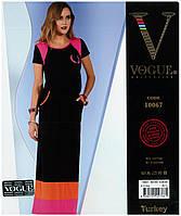 """Легкое летнее длинное платье """"Vogue collection"""" Турция"""