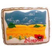 Расписной пряник ко дню Независимости Украины в ассортименте