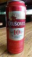 Пиво чешское Krusovice ж/б 0,5л. 4,2%(доставка по всей Украине)
