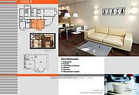 Однокімнатна квартира 2 підїзд