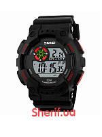Часы спортивные Skmei 1101 Black-Red  1101BR