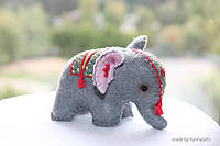 Слон сувенир ручной работы на подарок, миниатюрная игрушка