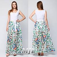 Женский комплект платье с юбкой 070 белый