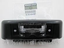 Фонарь подсветки номера (распашенка) на Рено Трафик 01- > 06 - Renault (Оригинал) — 8200434687