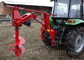 Бур садовый для трактора Wirax WR-25/50 (диаметр 25 см; 50 см)