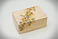 Коробка-контейнер 180*120*80 фон ОРНАМЕНТ