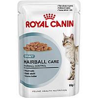 ROYAL CANIN Hairball Care корм для кошек старше 1 года, склонных к образованию волосяных комочков  0,085КГ