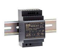 Блок питания Mean Well HDR-60-24 На DIN-рейку 60 Вт; 24 В; 2,5 А (AC/DC Преобразователь)