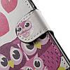 Чехол книжка для Huawei P10 Plus боковой с отсеком для визиток, Счастливая семья, фото 8