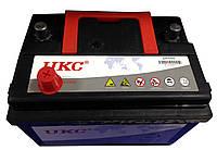 Аккумулятор автомобильный 12v 60A UKC с уровнем электролита