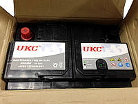 Аккумулятор автомобильный 12v 80A UKC с уровнем электролита