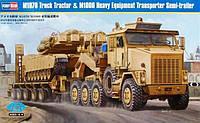 M1070 Truck Tractor & M1000 Heavy Equipment Transporter Semi-Trailer 1/35 HOBBY BOSS 85502