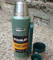 Термос зеленый Classic STANLEY 1.9L ST-10-01289-036