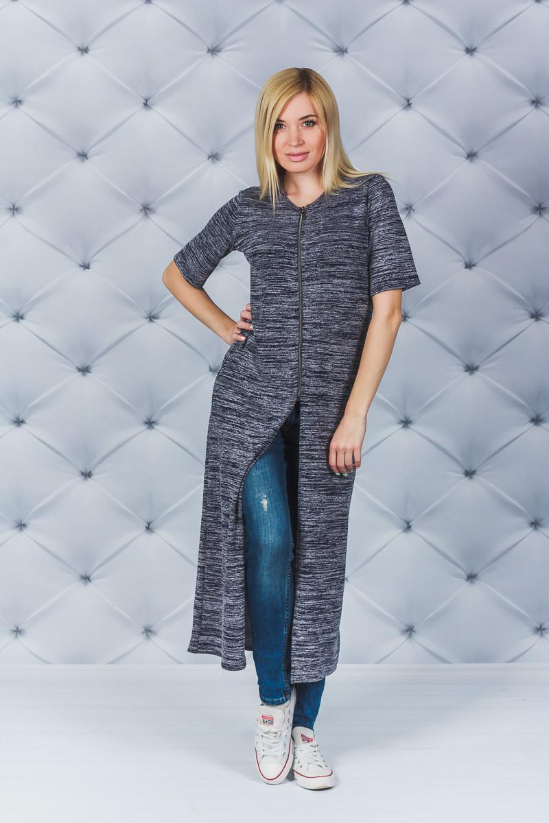 Кардиган  женский джинс