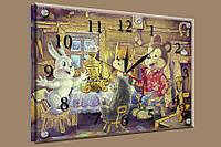 Часы-картина 25x35. Код: B-11