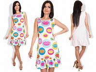 Женское летнее платье с губками 88926