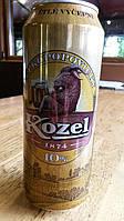 Пиво чешское Velkopopovický Kozel ж/б 0,5л. 4,0%(доставка по всей Украине)