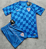 Форма сборной Хорватии (синяя)