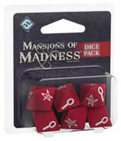 Обитель безумия (второе издание) Набор кубиков (Mansions of Madness (second edition) Dice Pack) настольная игра