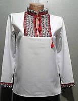 Рубашка вышиванка для мальчика школьника.