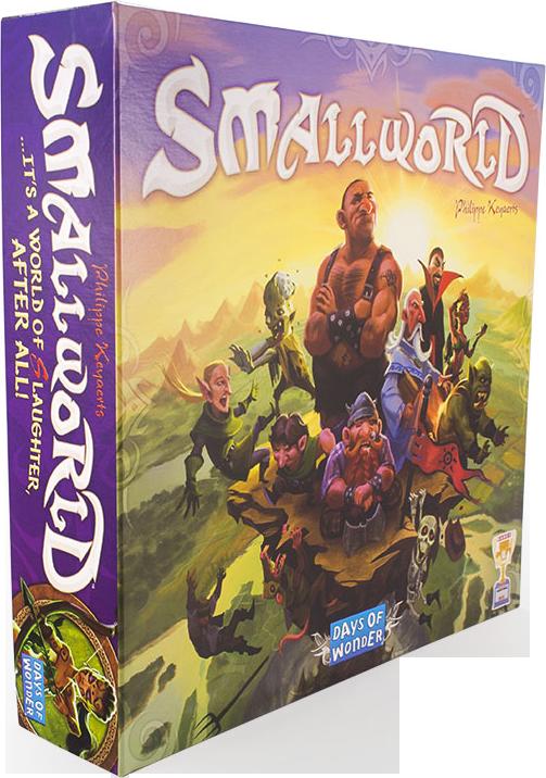 """Настольная игра """"Small World: Маленький Мир"""" (Hobby World, для компаний)"""