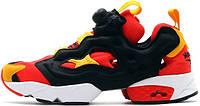 Мужские кроссовки Reebok Insta Pump Fury OG Hong Kong Handover Black Red Yellow