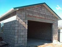 Будуємо гараж з газобетону або піноблоків