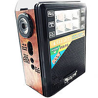 Радио приемник Golon RX 199 c led фонариком
