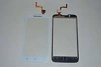 Оригинальный тачскрин / сенсор (сенсорное стекло) для Lenovo A328 | A328t (белый цвет) + СКОТЧ В ПОДАРОК