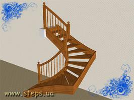 Дерев'яні Сходи - П-подібні
