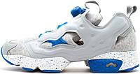 Женские кроссовки LA MJC x Ccolette x Reebok Insta Pump Fury Grey Blue